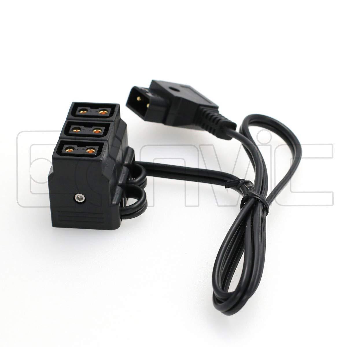 Eonvic D Tap Typ B Auf 3 Port Buchse P Tap D Tap Hub Adapter Splitter Für Fotografie Power Gewerbe Industrie Wissenschaft