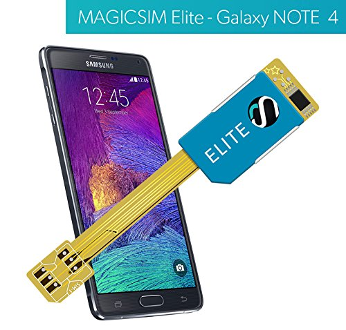 MAGICSIM ELITE - MICRO SIM Dual SiM adapter for GALAXY NOTE