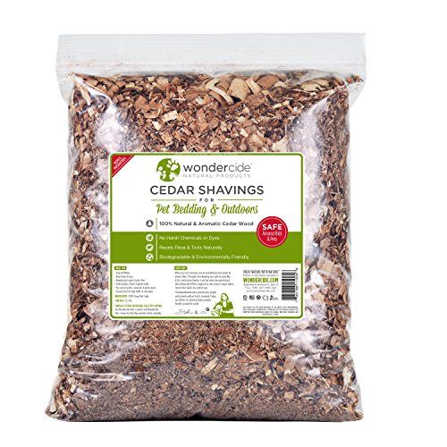 ATHOMEY SOBAKEN Wondercide Cedar Repellent Shavings 2.5 lbs for Pet Bedding and Outdoor Spaces