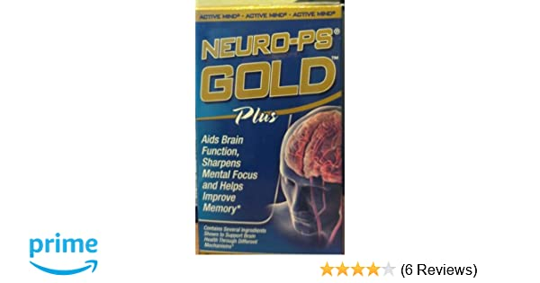 Amazon.com: Vitamin World Neuro-PS Gold Plus, 90 Softgels: Health & Personal Care