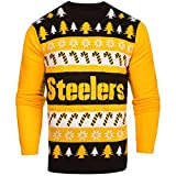 NFL Pittsburgh Steelers One Too Many Light Up Sweater, Small