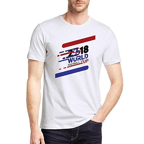 Glowish World Cup Tee Men's Classic Color Symbol T-Shirt