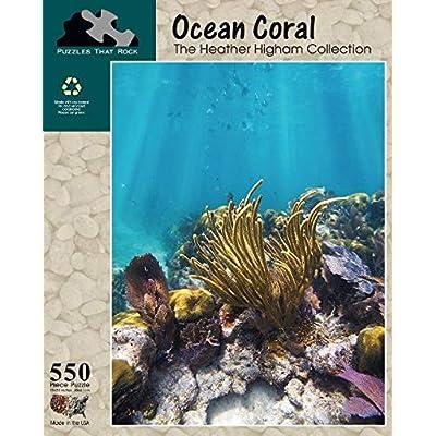 Ocean Coral, 550 Piece Puzzle: Toys & Games