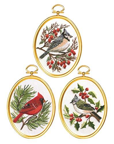 Janlynn Winter Birds Cross Stitch Supplies from Janlynn