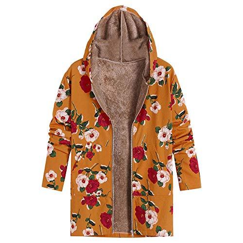veste rétro Veste manteau Veste veste femme longues veste en hiver élégante femme Outwear Size zippée Softshell Jack femme Weant d'hiver veste manches à chaud Plus veste D Plus fourrure r8qPp81xCw