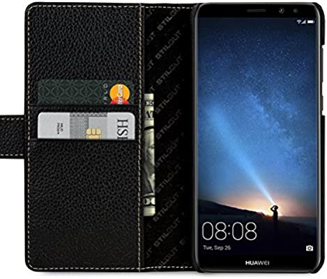 StilGut Talis Funda Cartera para el Huawei Honor Mate 10 Lite con ...
