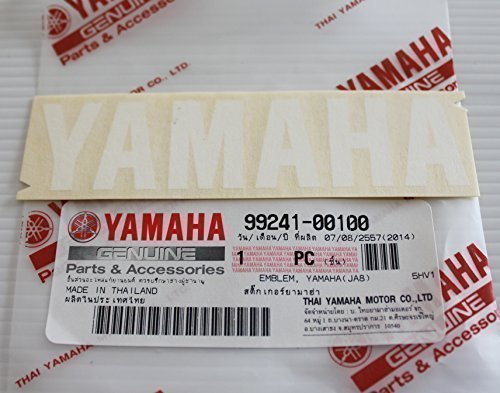 Yamaha 99241-00100 - Genuine Yamaha Decal Sticker Emblem for sale  Delivered anywhere in USA