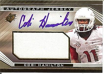 new products d37af c9506 Amazon.com: 2013 SPX Autographs Cobi Hamilton Cincinnati ...