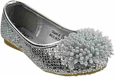 91a5a174d84 ... Heel Platform Dress Pumps Silver. seller  SHOE DEZIGNS. (0). Marylin  Moda Glami k Little Girls Crocodile Pearl Ballet Ballerina Flats
