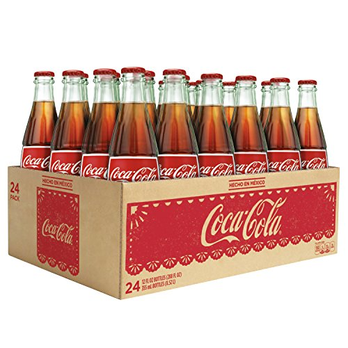 Mexican Coke Glass Bottles, 12 fl oz, 24 Pack by Coca-Cola