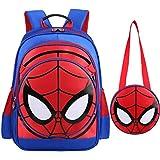 Pupil schoolbag Spiderman 3-6 grade cartoon burden reducing children's backpack