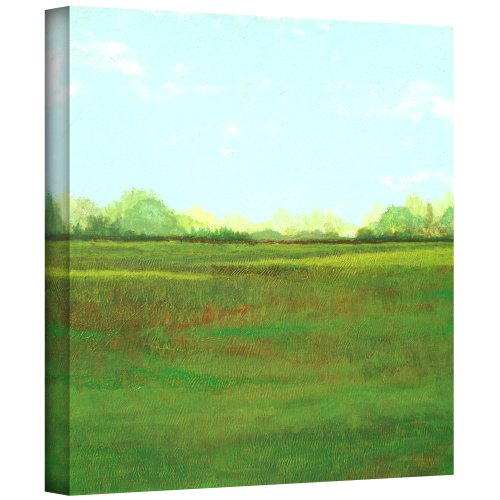 (ArtWall 'Sunlight Field' Gallery Wrapped Canvas Artwork by Herb Dickinson, 36 by 36-Inch)