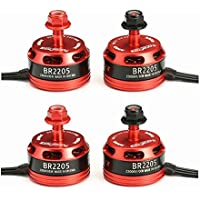 BangBang 4X Racerstar Racing Edition 2205 BR2205 2300KV 2-4S Brushless Motor 2 CW & 2 CCW For QAV250 ZMR250