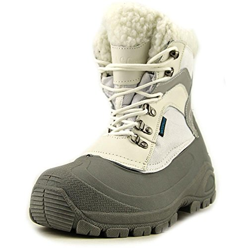 Itasca Womens Boots (Itasca Women's Sleigh Bell Ski Boot, White/Grey, 8 M US)