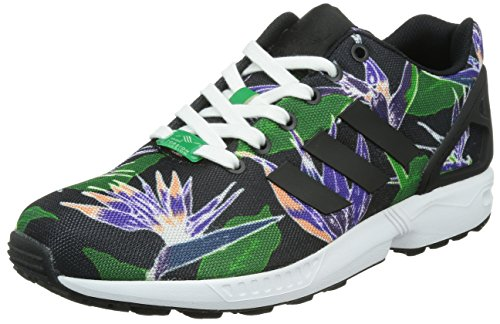 adidas Zx Flux, Men's Running Multicolor - Mehrfarbig (Core Black/Core Black/Ftwr White)