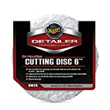 Meguiar's DMC6 DA 6' Microfiber Cutting Disc, 2 Pack,