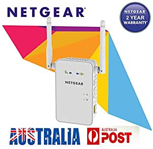 Netgear EX6100 AC750 750Mbps Dual Band Wireless Range Extender WiFi Booster AU