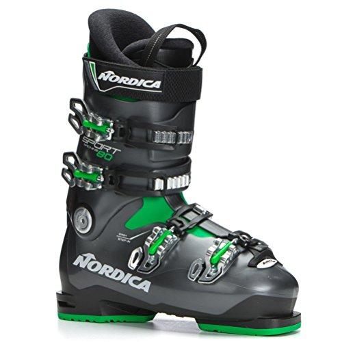 Nordica Sportmachine 80 Ski Boots - 27.5/Black-Anthracite-Green