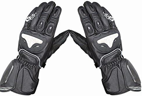 オートバイグローブ 男女兼用のロードバイク、レース、ハイキング、マウンテンバイクのための防水屋外スポーツのオートバイの手袋 グローブ (Size : L)