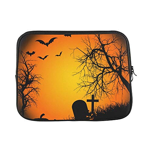 Design Custom Halloween Ipad Wallpaper for Ipad Ipad Air R Sleeve Soft Laptop Case Bag Pouch Skin for MacBook Air 11