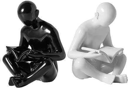Jiji Sujetalibros Nordic Creative Bookends Figurines