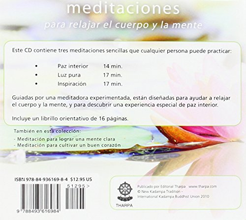 Meditación para la relajación: Tres meditaciones guiadas para relajar el cuerpo y la mente (Vive La Meditacion) (Spanish Edition)