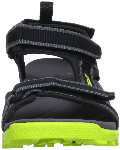 Teva Tanza 8864 - Sandalias para niños Negro (neon lime 809)