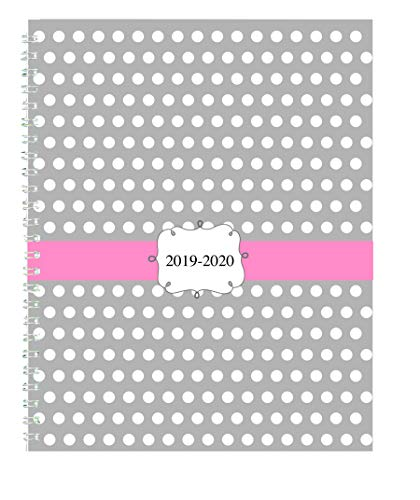 House of Doolittle 2019-2020 Weekly and Monthly Planner, Academic, Dots, 7 x 9 Inches, August - July (HOD29593-20)