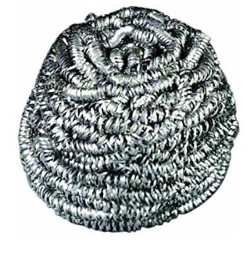 84 Scotch-Brite Stainless Steel Scrubber, 1.75oz (Case of 12) by Scotch-Brite