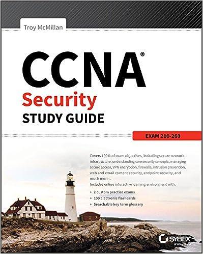 CCNA Security Study Guide Exam 210-260