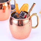 Clothful  Stainless Steel 304 Copper Cup Mug Cup Moscow Donkey Mule Cup Cocktail Glass.