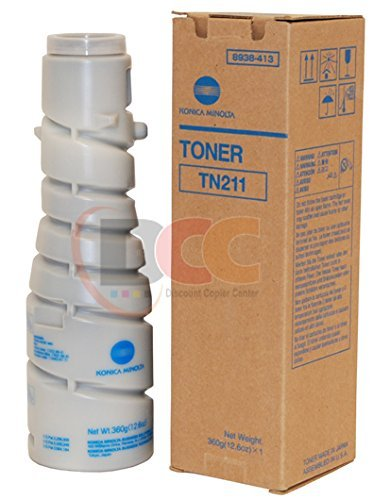 Konica Minolta Bizhub 250 (Genuine Konica Minolta Toner Cartridge TN211 for Bizhub 200 250 222 282)