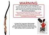 Samick Sage Takedown Recurve Bow Bundle with: Southwest Archery Stringer TOOL that is REQUIRED to maintain warranty, Arrow Rest, and thank you gift!