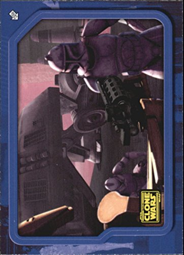 2008 Star Wars Clone Wars Stickers #48 Clone Troopers Strike! - NM-MT