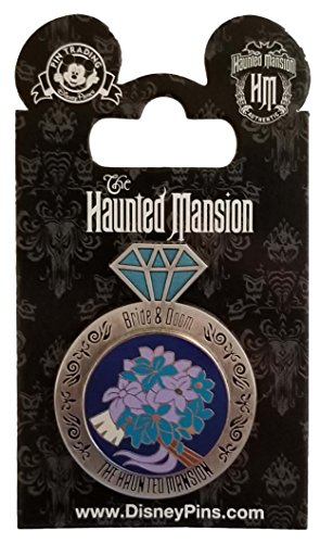 (WDW Trading Pin - Haunted Mansion - Bride and Doom - Wedding Ring)