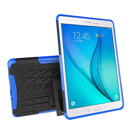 Galaxy Tab A 9.7 (SM-T550 / T555) Case, YMH Full-Body [Heavy Duty] & [Shock Proof] Protective Silicone Case with…