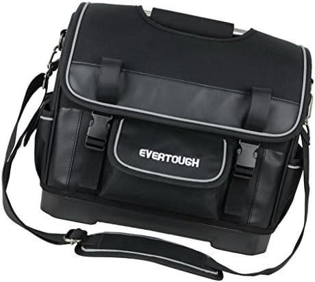 多機能収納ツールオーガナイザー電気技師バッグオックスフォード布ブラック