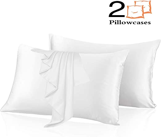 Amazon Com Leccod 2 Pack Silky Satin Pillowcase For Hair And Skin