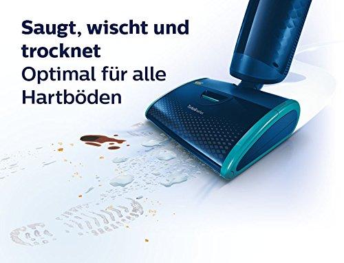 Für alle Hartböden geeignet, der Philips Aquatrio Pro FC7080/01 Nass- und Trockensauger
