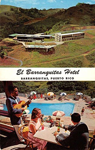 Barranqiotas Puerto Rico El Hotel Multiview Vintage Postcard K64098