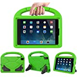 Kids Case for iPad Mini 1 2 3 4 5 - TIRIN Light Weight Shock Proof Handle Friendly Convertible Stand Kids Case for iPad Mini, Mini 5, Mini 4,iPad Mini 3rd Generation, Mini 2 Tablet - Green