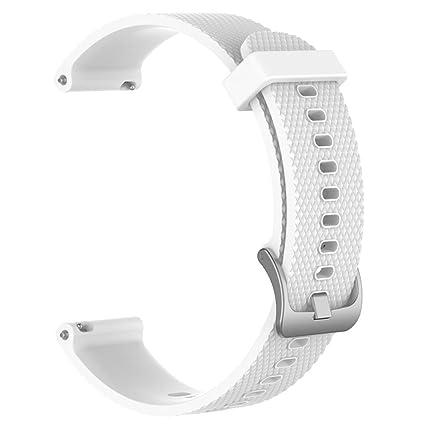 200 mm para pulseras Bands para Xiaomi amazfit Bip Youth Watch Soft Sili cagel Sport Reloj