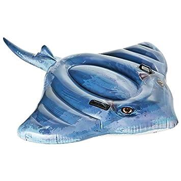 Pez Manta Raya hinchable acuático en vinilo - mar y piscina ...