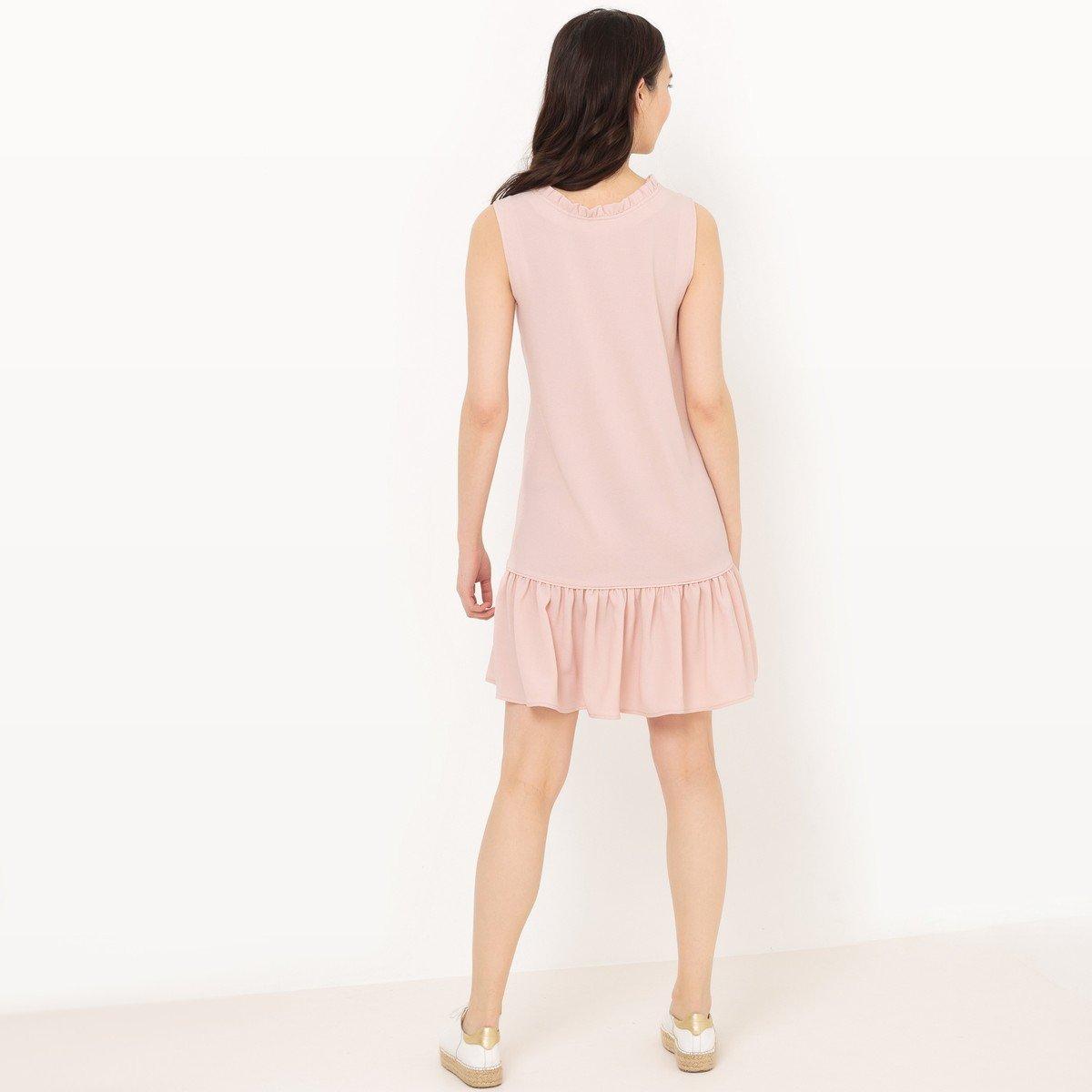 La Redoute Collections - Vestido - para mujer Rosa pallido 36: Amazon.es: Ropa y accesorios
