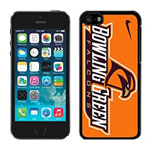 Bowling Green Falcons 01 Black Hard Plastic iPhone 5C Phone Cover Case