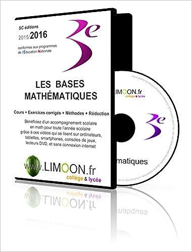 En ligne Les bases mathématiques en 3e : Soutien scolaire en vidéos - Maths brevet 3e epub, pdf