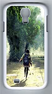 Late To School PC Case Cover for Samsung Galaxy S4 I9500 White