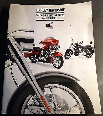 2012 HARLEY DAVIDSON PARTS & ACCESSORIES CATALOG HUGE MANUAL 850 PG (392) ()