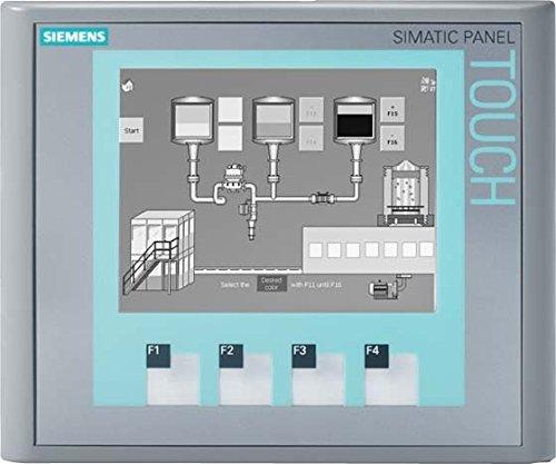 Price comparison product image Siemens SIMATIC HMI Basic Panel KTP400 6AV6647-0AA11-3AX0 Resolution 320 x 240 pix Interfaces 1 x RJ45 Ethernetfor PRO