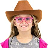 6-Pack Cowboy Hat Halloween Accessory - Dress Up